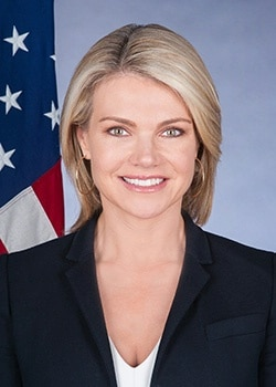 Heather Nauert, Acting Under Secretary for Public Diplomacy and Public Affairs [State Department Image]