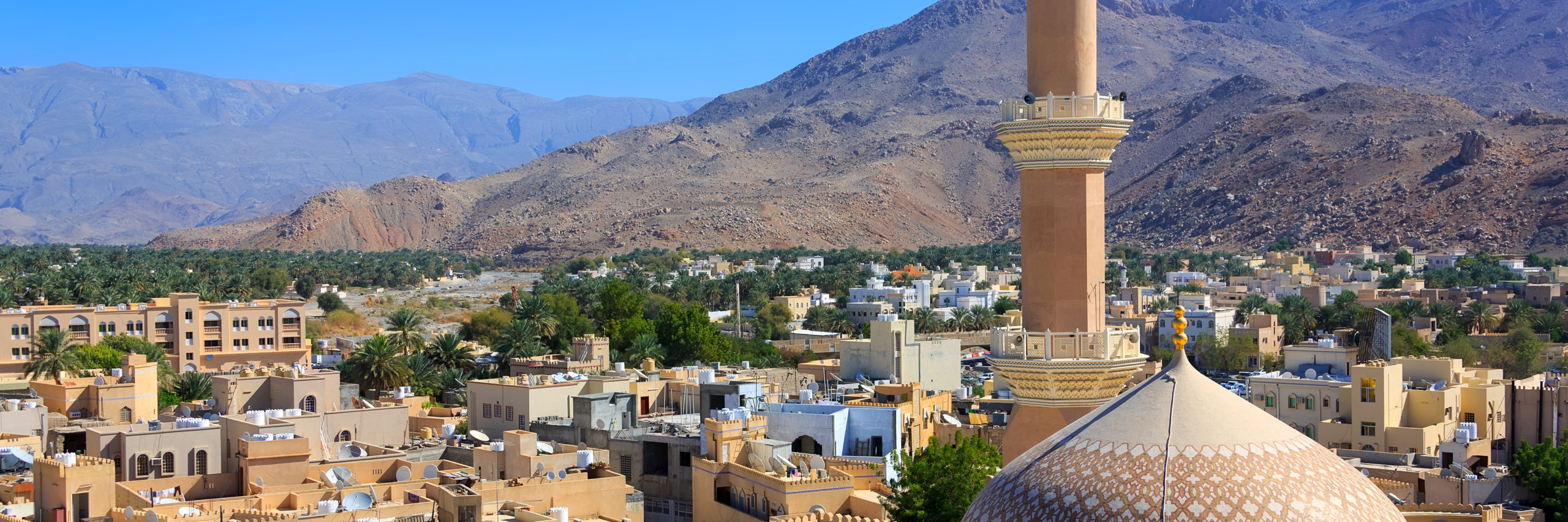 Panorama of Nizwa, Oman