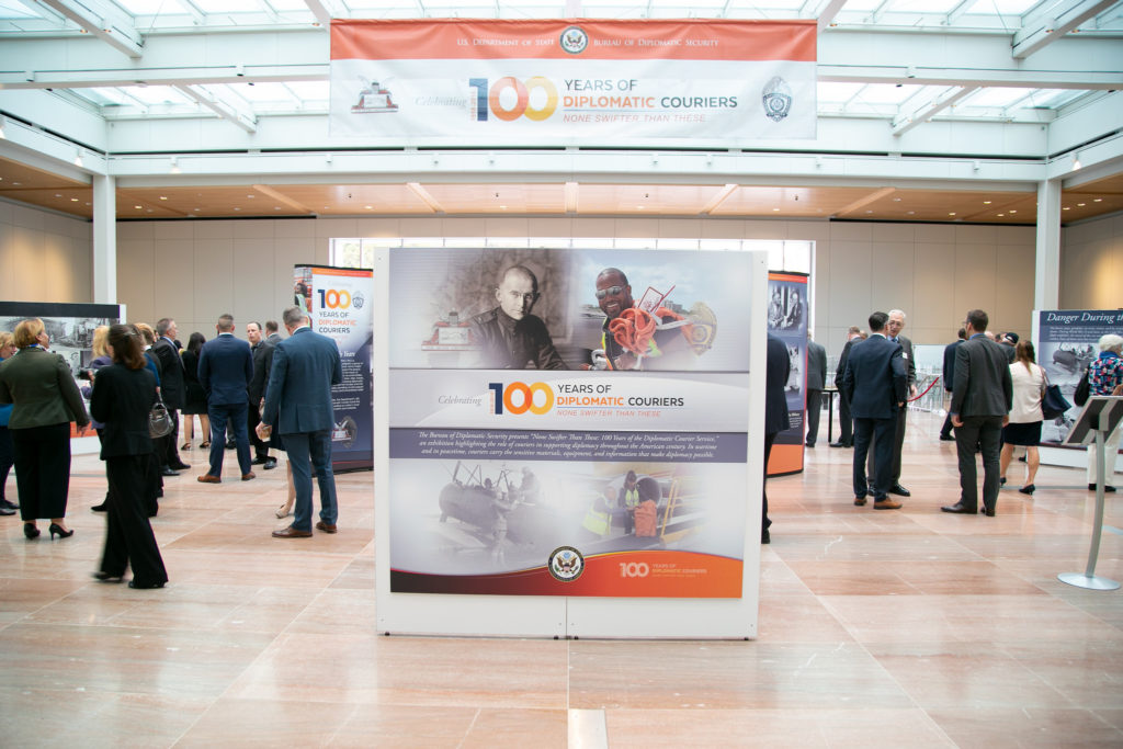 Diplomatic Couriers Exhibit on November 7, 2018