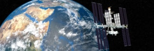 Extremely detailed and realistic high resolution 3D image of ISS - international space station orbiting Earth. Shot from outer space. Elements of this image are furnished by NASA. - Illustration [Shutterstock]