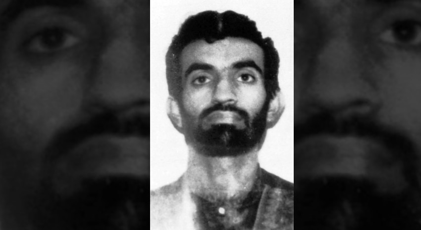 Ramzi Yousef, the driver of the explosives-laden truck in the 1993 World Trade Center bombing. DSS agents, through a Pakistani source, located Yousef; DS Agents Bill Miller and Jeff Riner worked with Pakistani law enforcement to apprehend Yousef. Yousef was turned over to the FBI, and brought to the United States for trial. Source: © Associated Press.