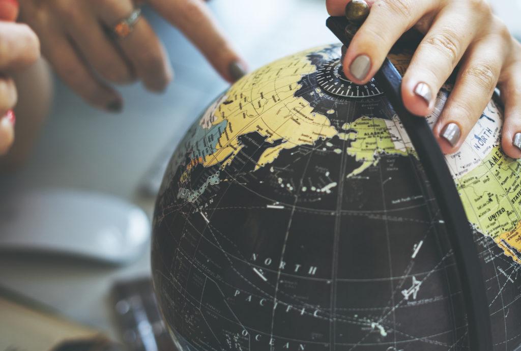 Globe World Map Travel Explore Destination Concept - Image