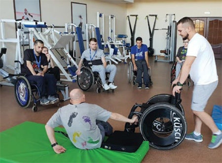 Date: 2019 Description: UCP Wheels Active Rehabilitation Camp in Ukraine. © Photo courtesy of USAID