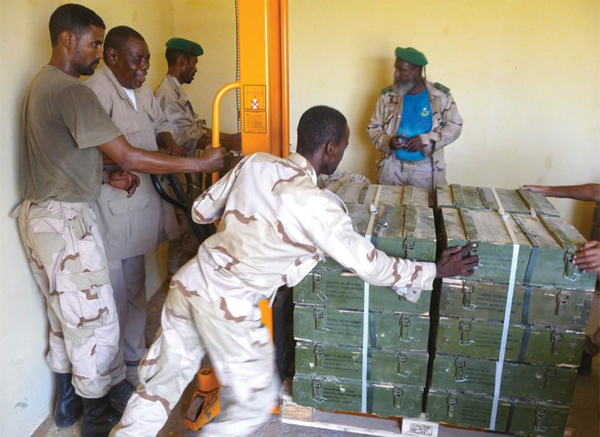 Date: 2019 Description: PSSM training is conducted in Mauritania. © Photo courtesy of NSPA