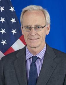 """Ambassador William """"Bill"""" Roebuck"""