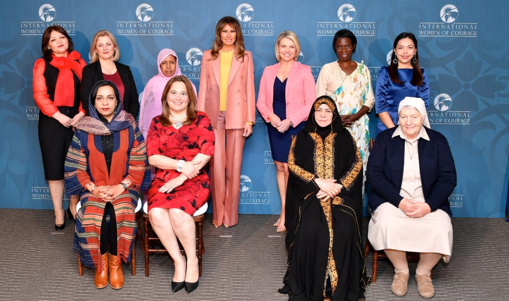2018 International Women of Courage Awardees