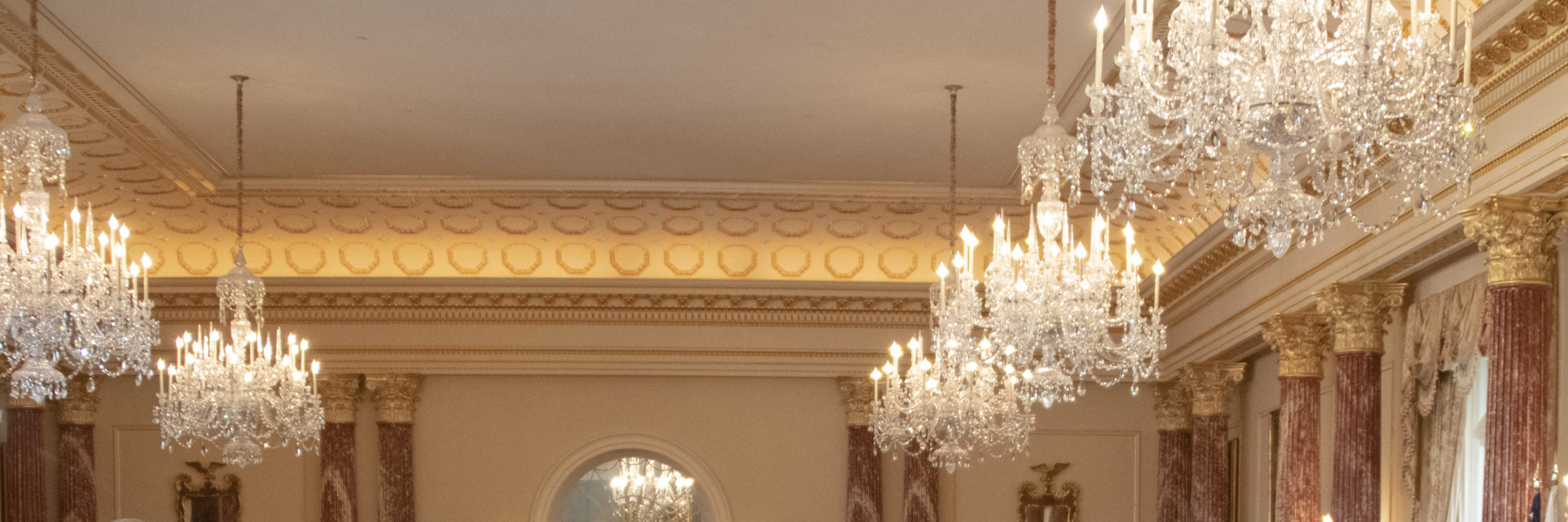 Benjamin Franklin State Dining Room at the Department of State