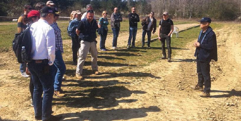 Date: 2017 Description: SMC participants conduct a field visit during the 2017 Regional SMC in Croatia. © Photo courtesy of CISR