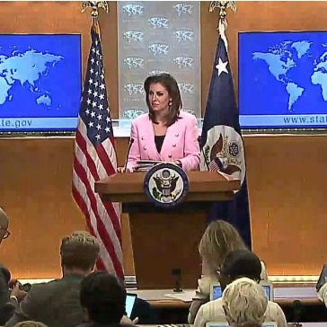 Department Spokesperson Ortagus leads the Department Press Briefing June 10, 2019.