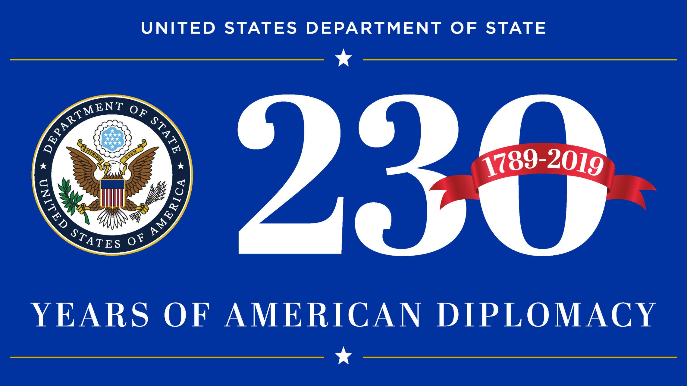 United States Department of State, 230 Years of American Diplomacy, 1789-2019