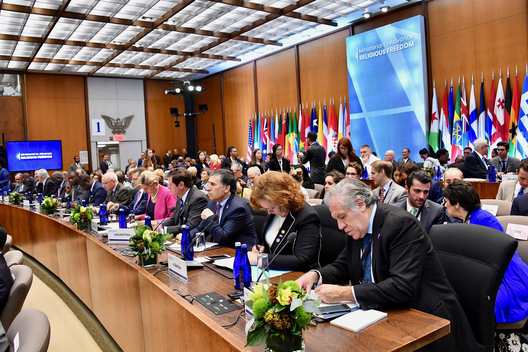Heads of Delegates Participate in the Ministerial