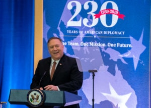Secretary Pompeo Delivers Remarks on 230th Anniversary of the State Department