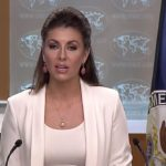July 11, 2019: Spokesperson Morgan Ortagus leads the Department Press Briefing, at the Department of State.