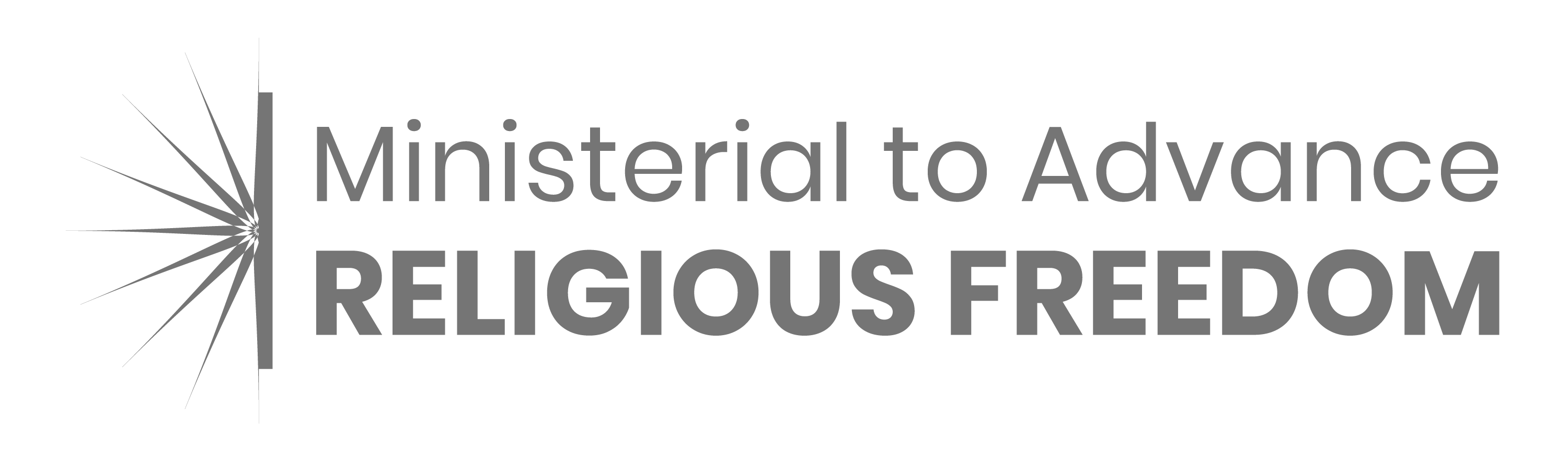 Ministerial to Advance Religious Freedom logo