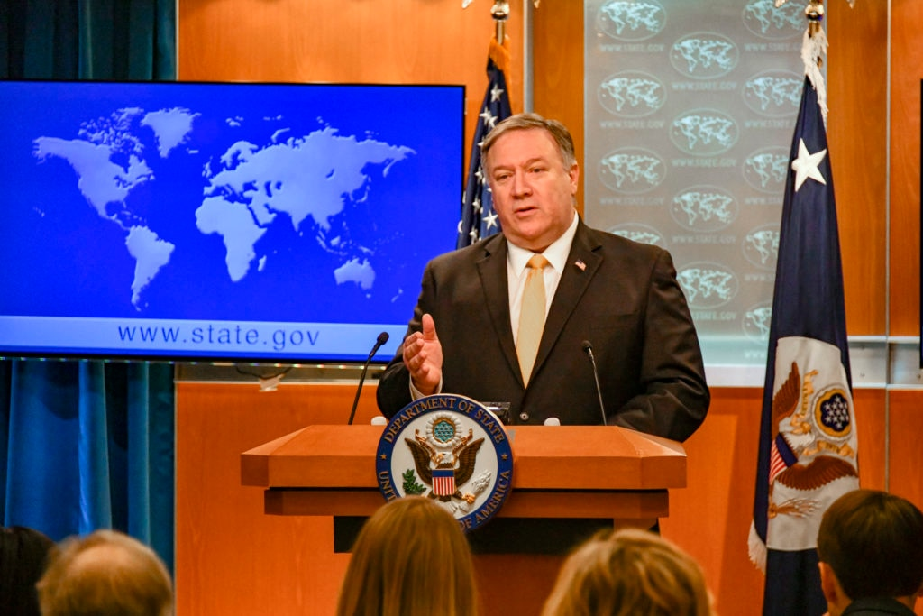 Secretary Pompeo Delivers Remarks to the Press on the INF Treaty