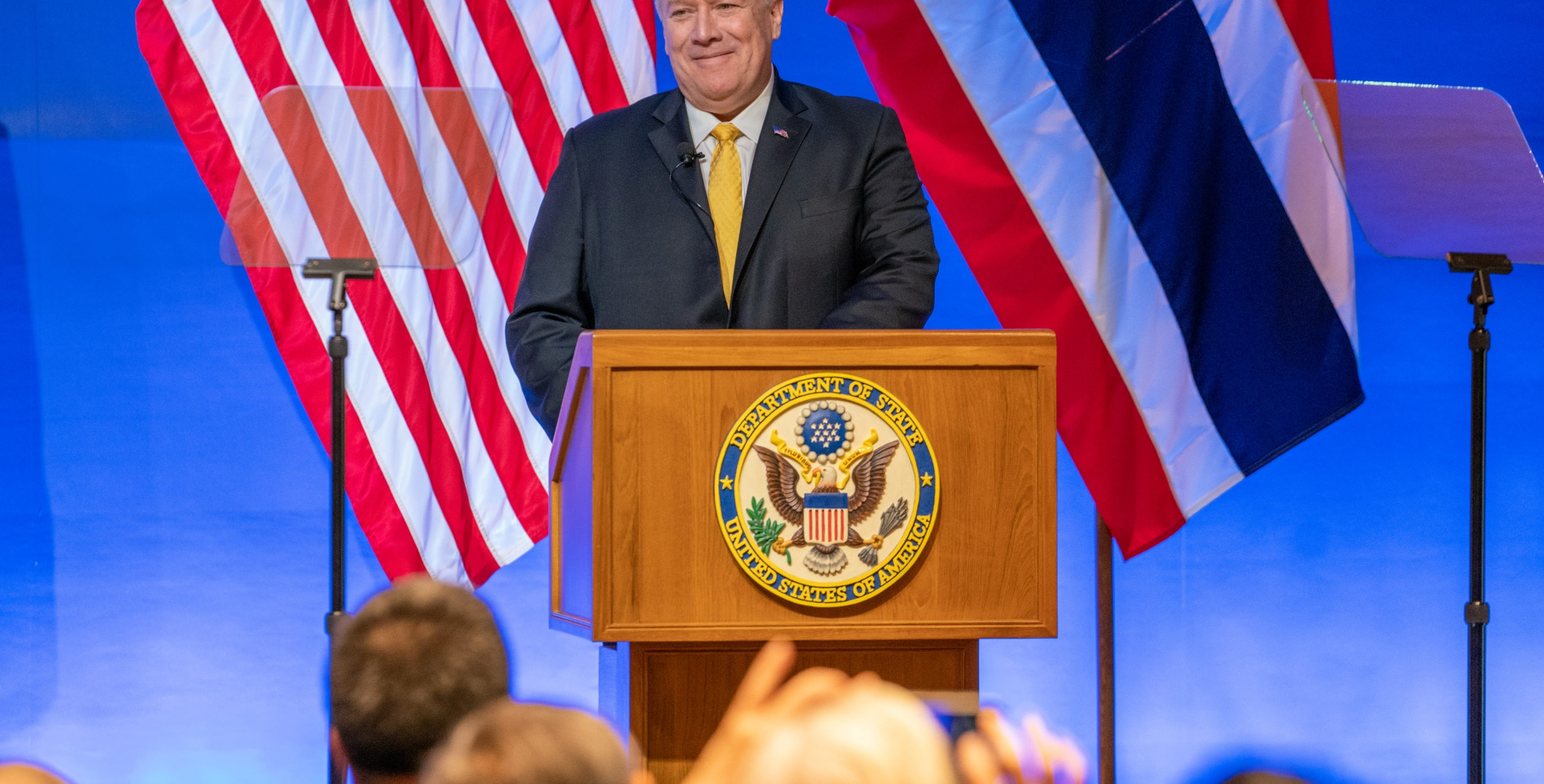 Secretary Pompeo Speaks on U.S. Engagement in Asia