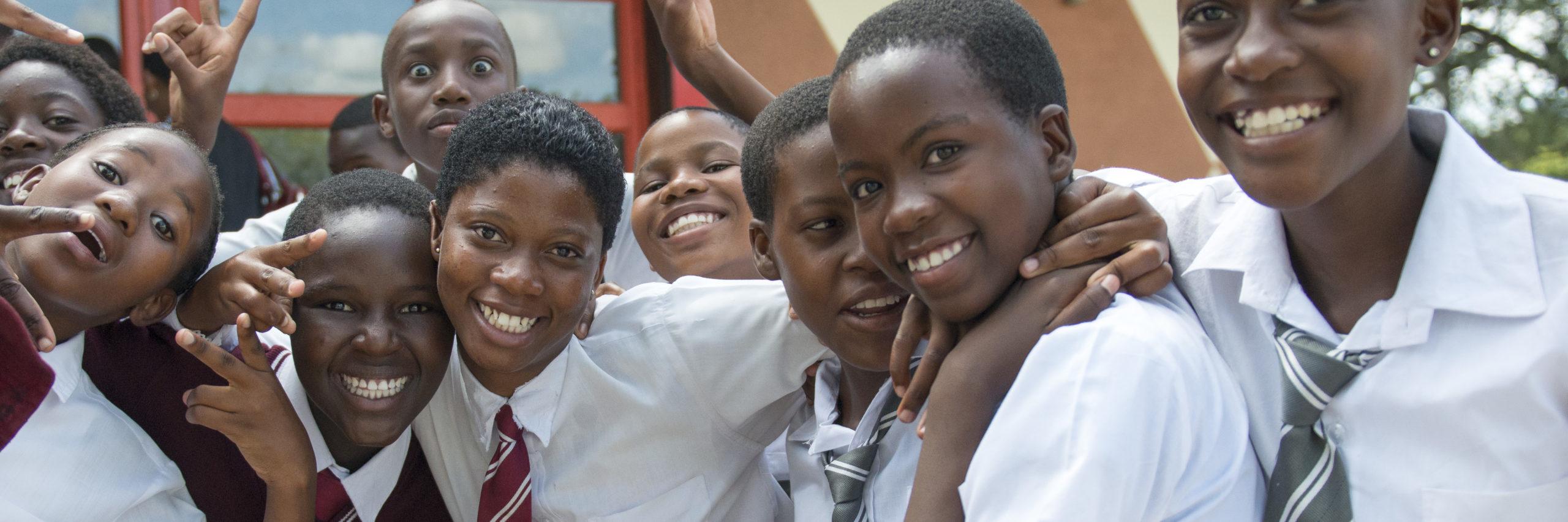 PEPFAR Supported School Girls In Botswana