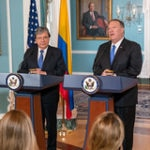 Secretary Michael R. Pompeo & Colombian Foreign Minister Carlos Holmes Trujillo