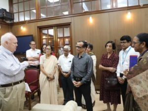 U.S. Special Representative to the UNICEF Executive Board Jim Morris visits India.