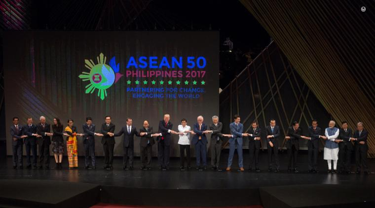 President Trump attended the 2017 U.S.-ASEAN Summit in the Philippines.