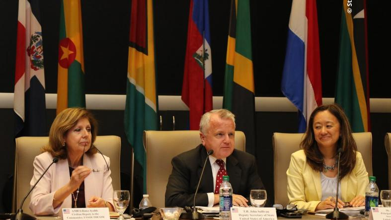 Deputy Secretary John Sullivan hosts the U.S.-Caribbean Resilience Partnership