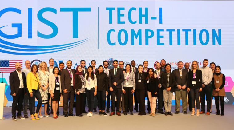 GIST Tech-I Finalists pose for a photo.