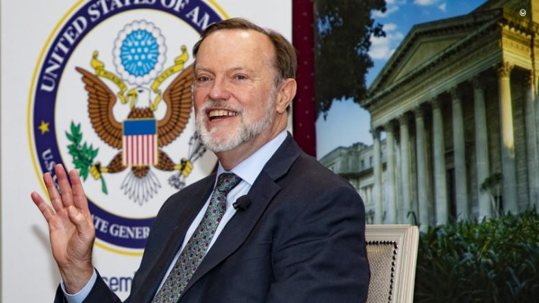 Assistant Secretary for African Affairs Tibor Nagy in South Africa. (State Department photo)