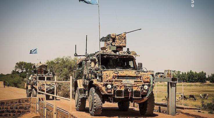 MINUSMA Peacekeepers Conduct Long Range Patrol in Mali (Source: United Nations)