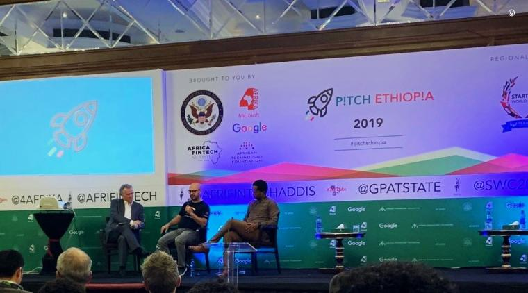 Google and Amazon Web Services (AWS) representatives participate in a discussion with the U.S. Department of State during P!TCH ETHIOPIA.