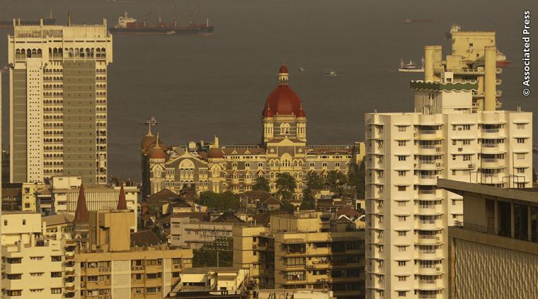 Scenic photograph of Mumbai, India.