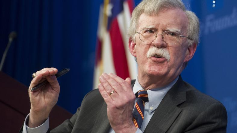 Ambassador Bolton delivers remarks on the Trump Administration's new Africa strategy at the Heritage Foundation on December 13, 2018.
