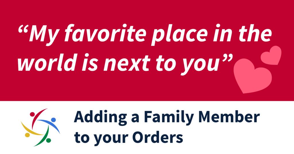 Adding Family