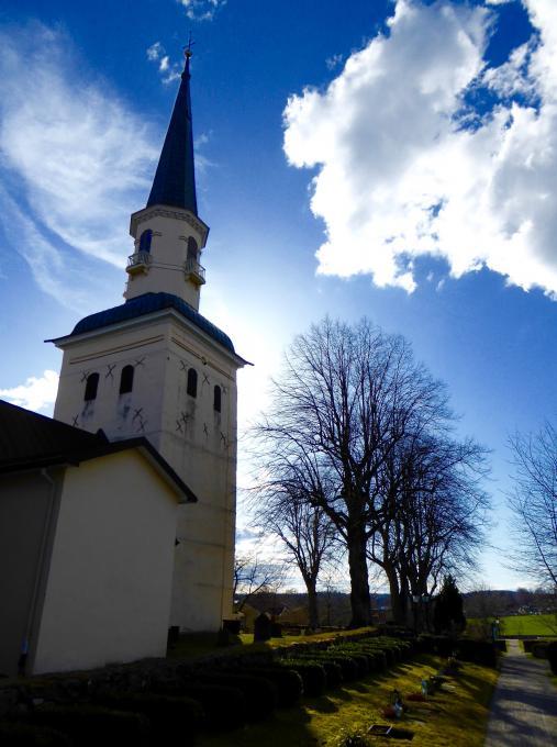 A church on the island of Ekerö.