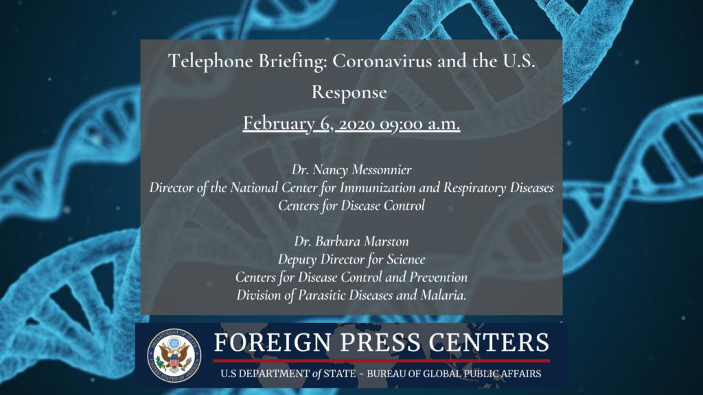 Coronavirus And The U.S. Response