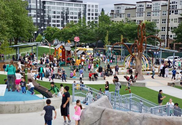 Inspiration Playground in Bellevue, Washington