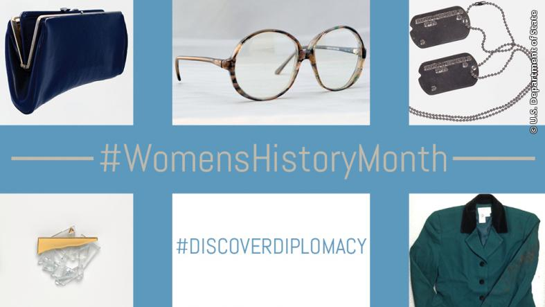 #DiscoverDiplomacy during this #WomensHistoryMonth.