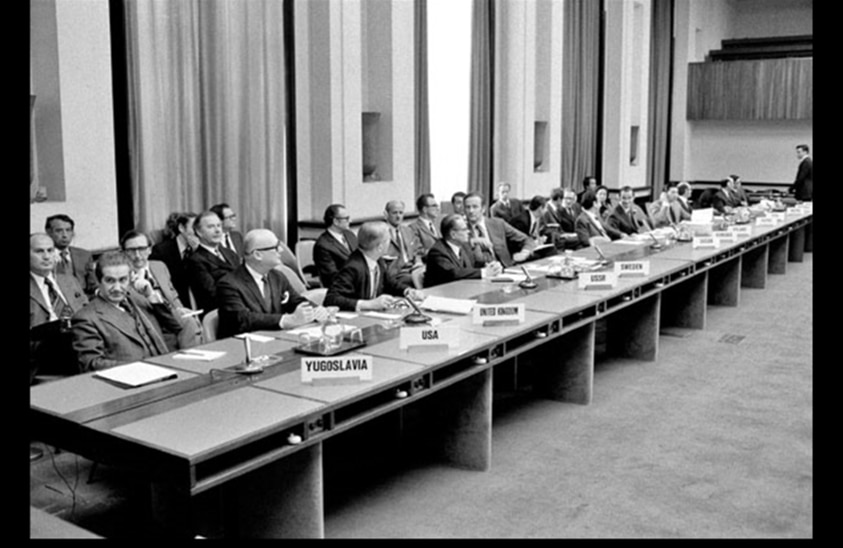 Preparatory Committee for the Review Conference of the Parties to the Treaty on the Non-Proliferation of Nuclear Weapons Meets for the First Time (Photo and Caption by UN Photo/United Nations)