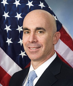 Photo showing Inspector General, Steve A. Linick.