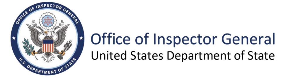 Office of Inspector General Letterhead.