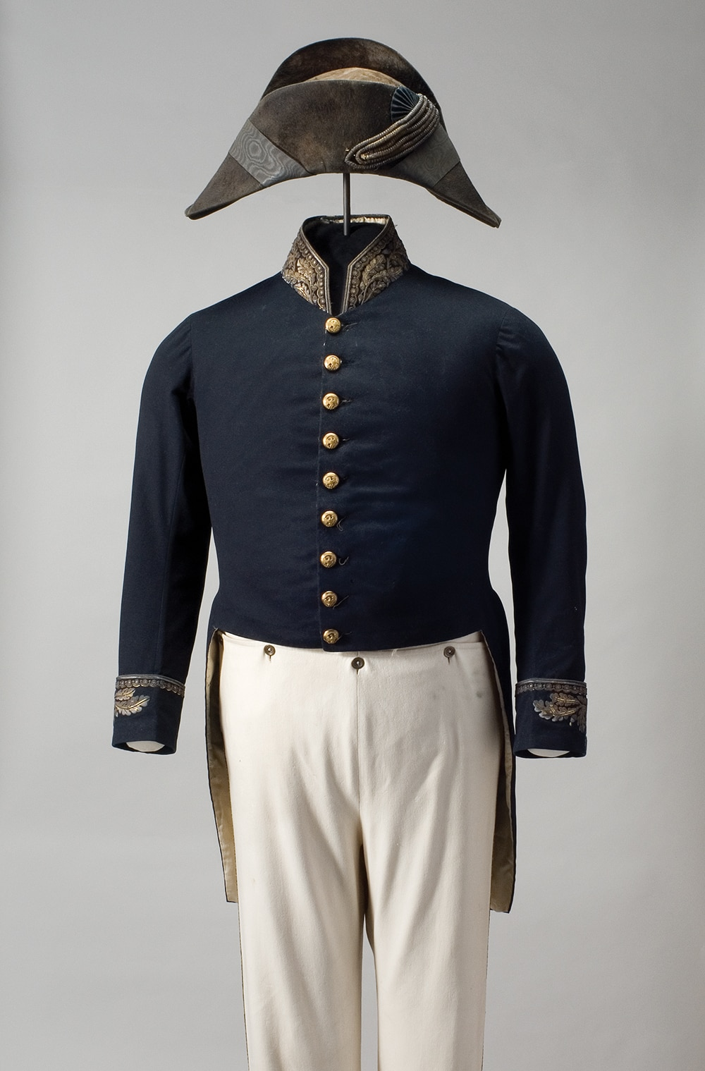 Photo showing the uniform that John Y. Mason wore during his tenure as U.S. Minister to France. He presented his credentials to Napoleon III on January 22, 1854, and served until 1859 when he died at post. [Department of State]