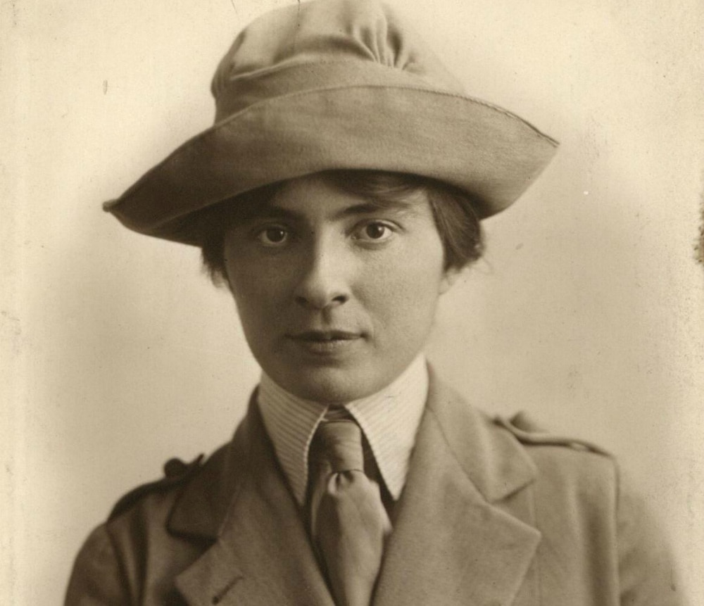Photo showing Lucile Atcherson, first woman Foreign Service Officer, 1922. [National Archives]