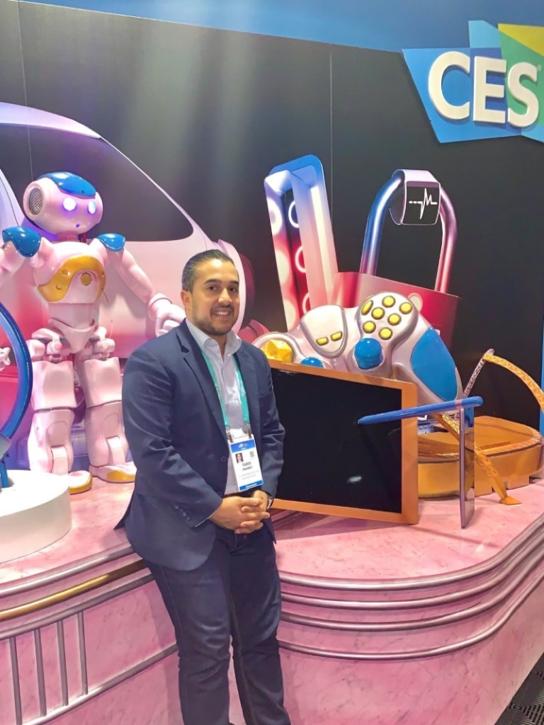 Tarek Fahmy, Director of the Bureau of Economic and Business Affairs' Office of Intellectual Property Enforcement, represented the Bureau at the 2020 Consumer Electronics Show (CES). He engaged up and coming U.S. companies to ensure that the U.S. government's Intellectual Property policy enables them to remain on the cutting edge of innovation.