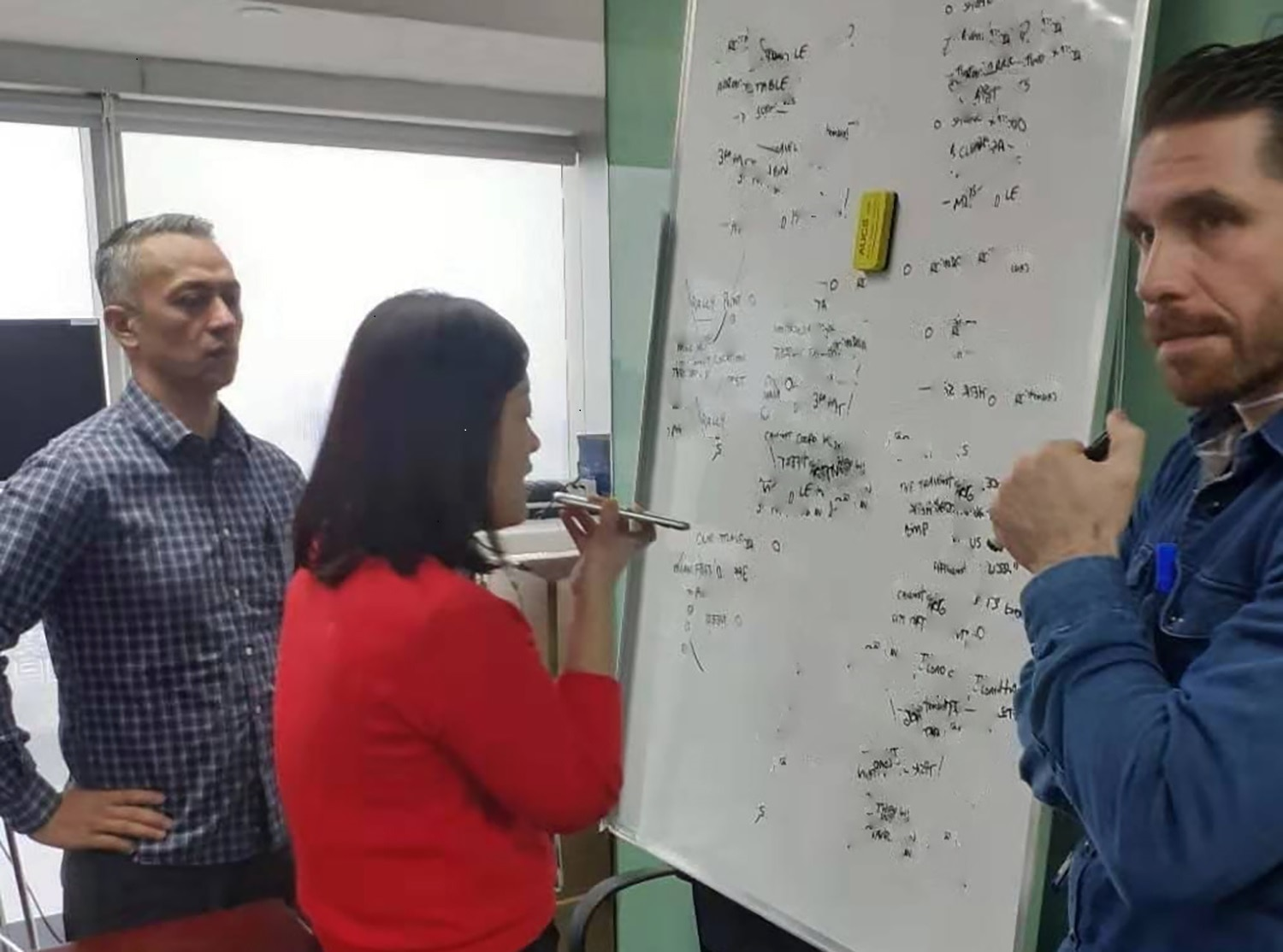 The DSS Regional Security Office team implements the U.S.Consulate evacuation plan, Wuhan, China, Jan. 27, 2020.(U.S. Department of State photo)