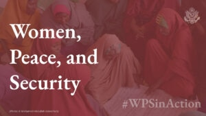 Women, Peace, and Security #WPSinAction [Photo: Mohamed Abdullah Adan/Pact]