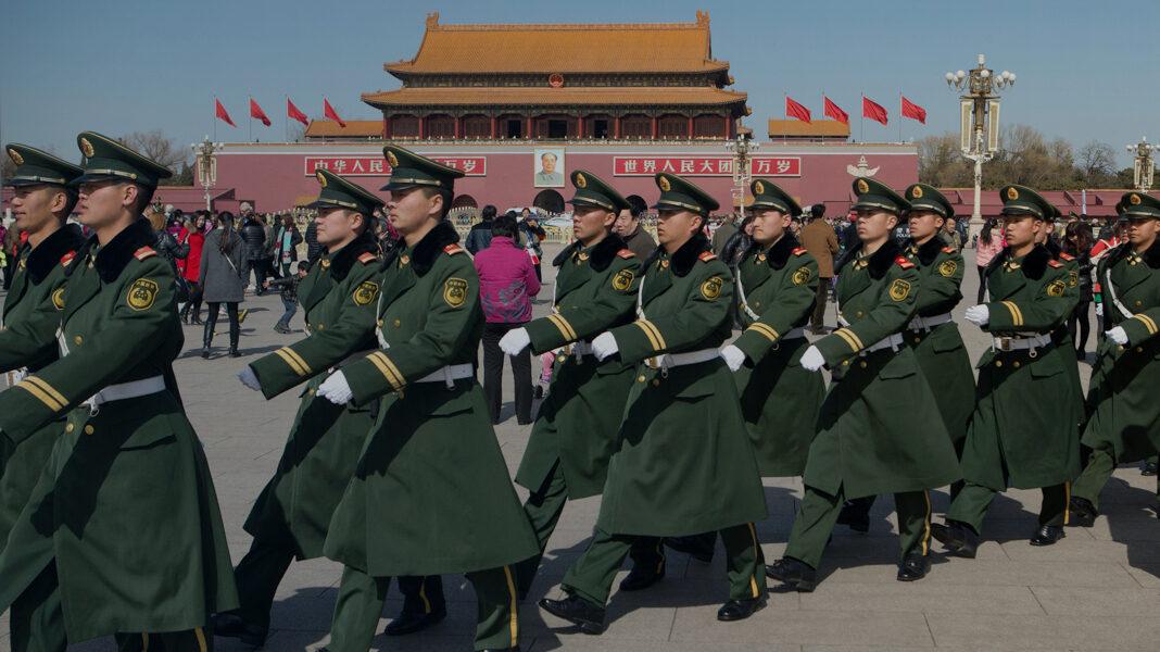 China Tiananmen Crackdown