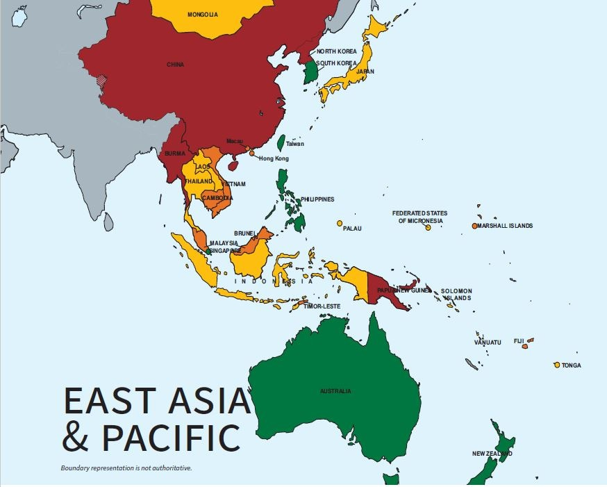 2020 Trafficking in Persons Report: East Asia & Pacific