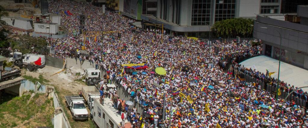 Guaido Protest Ed