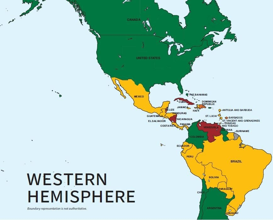 2020 Trafficking in Persons Report: Western Hemisphere