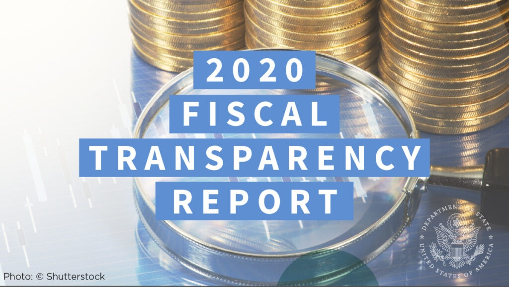 2020 Fiscal Transparency Report [photo: Shutterstock]