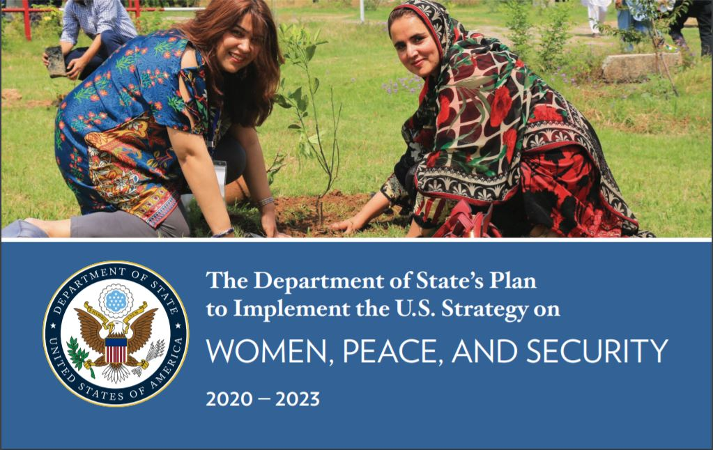 Cover: The Department of State's Plan To Implement the U.S. Strategy on Women, Peace, and Security